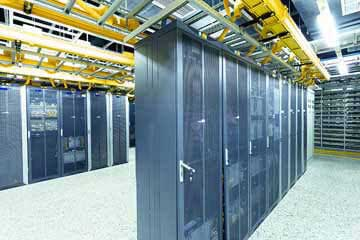 Structured Cabling data room